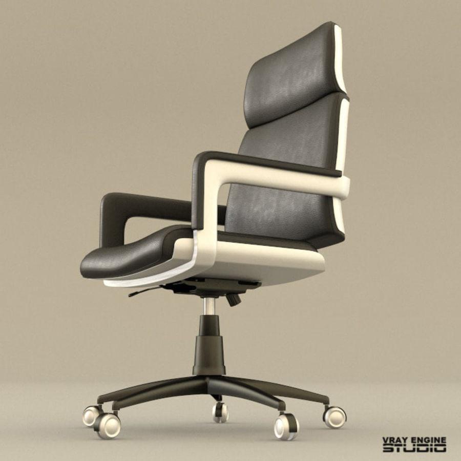 Krzesło biurowe royalty-free 3d model - Preview no. 2