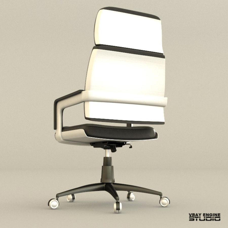 Krzesło biurowe royalty-free 3d model - Preview no. 4