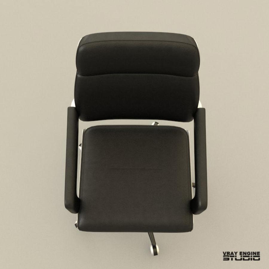 Krzesło biurowe royalty-free 3d model - Preview no. 3