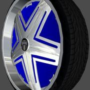 Dub Wheel Pack V1 3d model