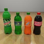 Plastic Pop Bottles 3d model