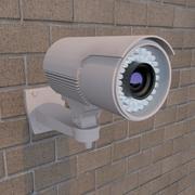 Cámara de seguridad modelo 3d