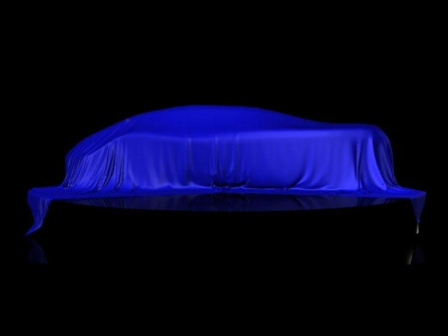 Car Veil royalty-free 3d model - Preview no. 5