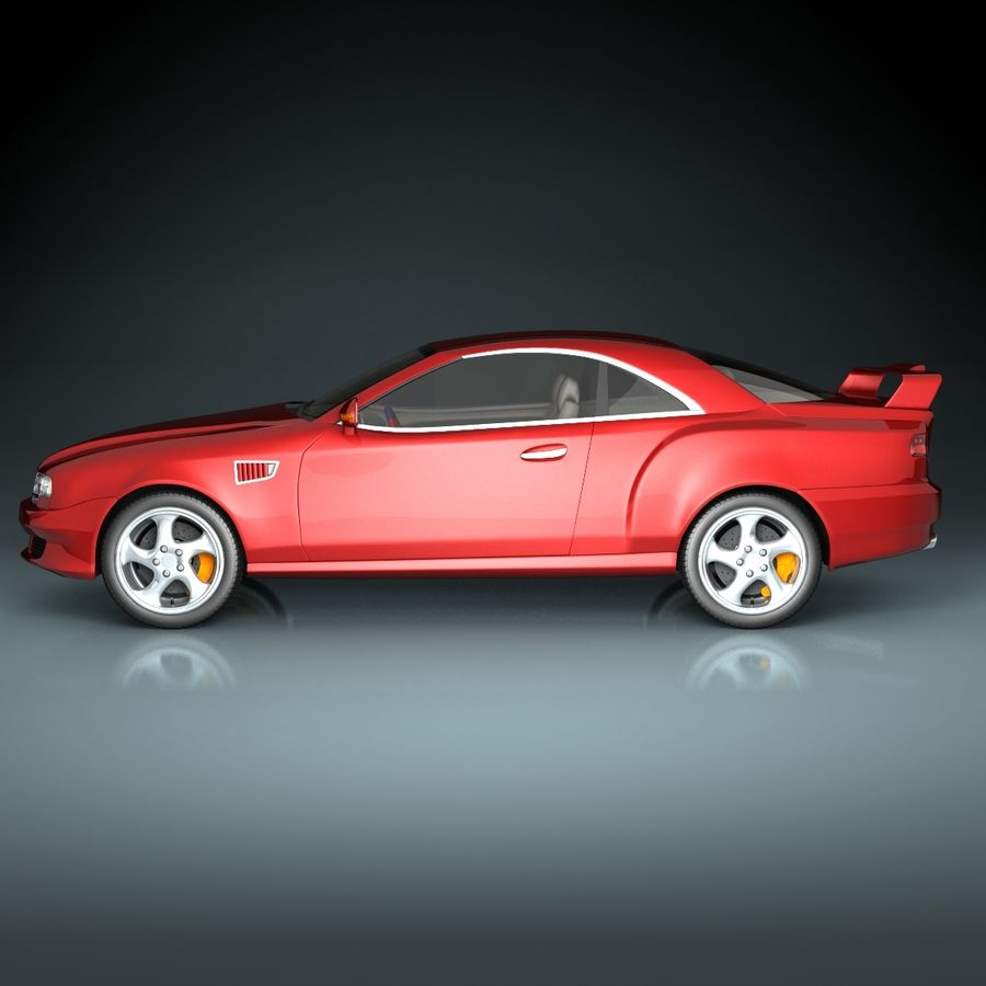 Muscle Car royalty-free 3d model - Preview no. 6