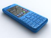 诺基亚206 3d model