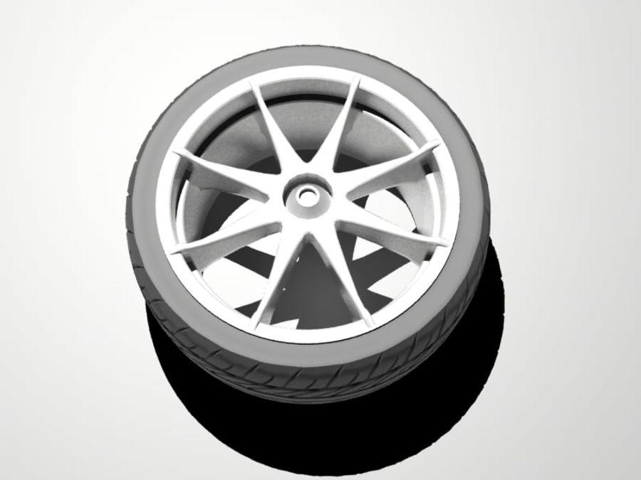 pneu de carro royalty-free 3d model - Preview no. 5