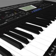 Toetsenbord: Yamaha PSR420: C4D-indeling 3d model