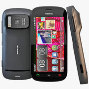 Nokia 808 PureView Black 3d model