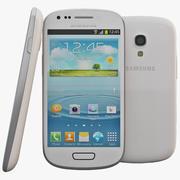 Samsung Galaxy S III Mini White modelo 3d
