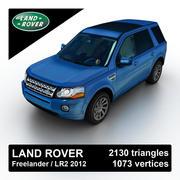 Land Rover Freelander LR2 2012 3d model