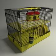 Hamster Cage v2 3d model