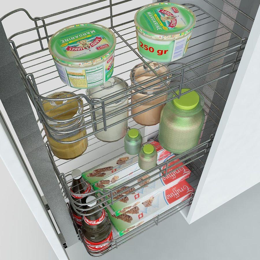 Кухонные шкафы-купе CE royalty-free 3d model - Preview no. 12