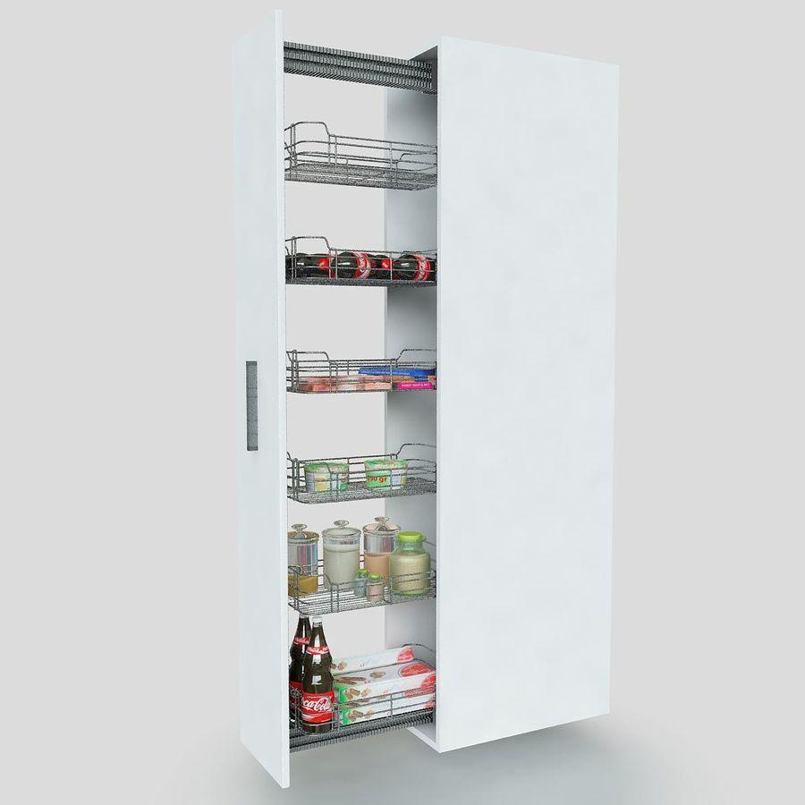 Кухонные шкафы-купе CE royalty-free 3d model - Preview no. 2