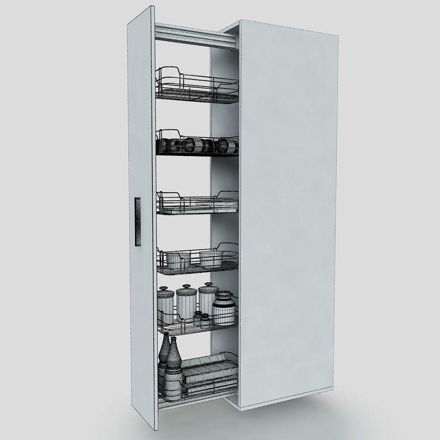 Кухонные шкафы-купе CE royalty-free 3d model - Preview no. 5