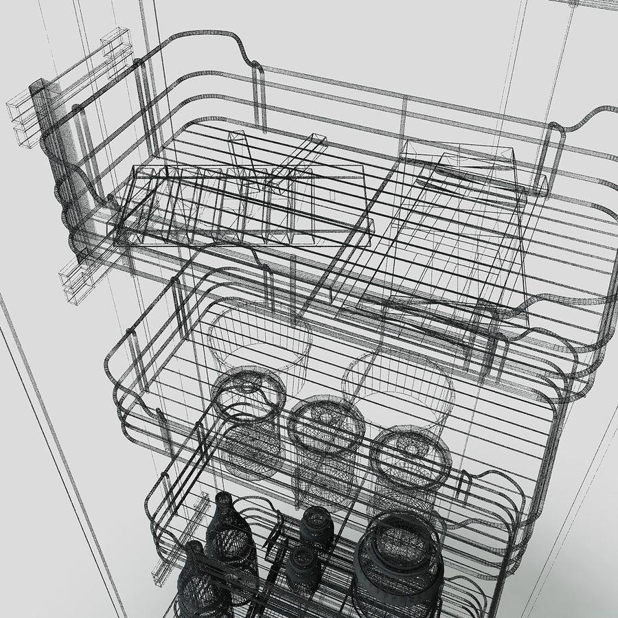 Кухонные шкафы-купе CE royalty-free 3d model - Preview no. 11