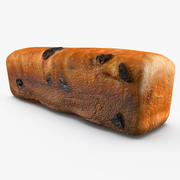 Raisin Bread 3d model