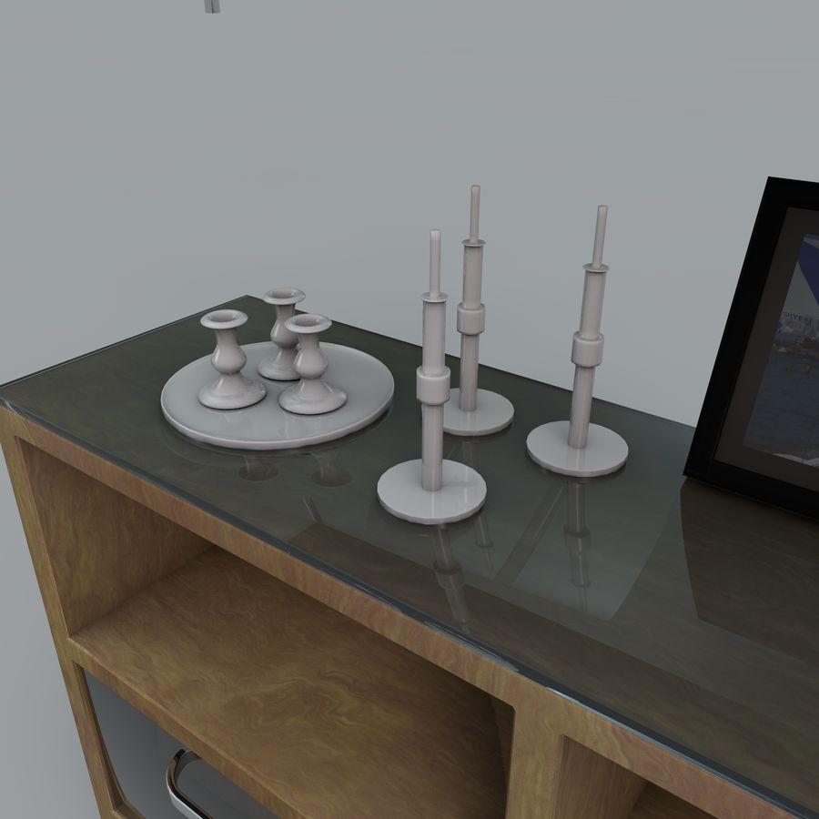 Armadio e accessori royalty-free 3d model - Preview no. 8