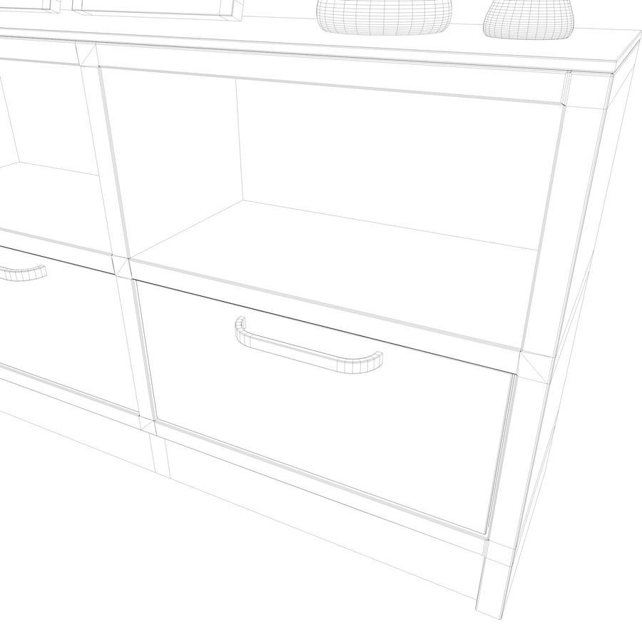 Armadio e accessori royalty-free 3d model - Preview no. 24