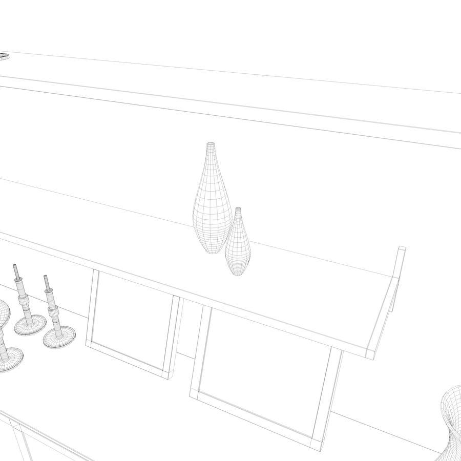 Armadio e accessori royalty-free 3d model - Preview no. 28