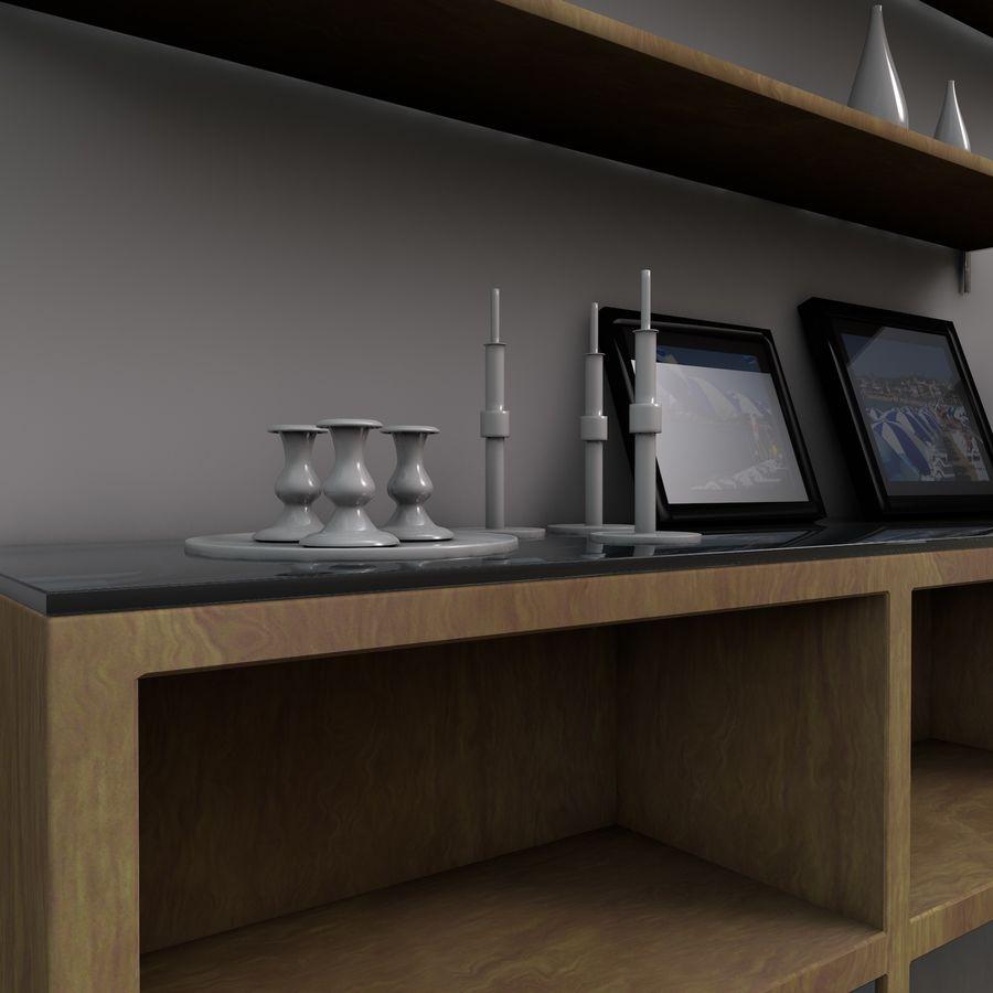 Armadio e accessori royalty-free 3d model - Preview no. 15