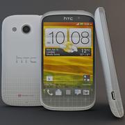 HTC Desire C White 3d model