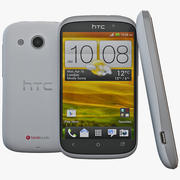 HTC Desire C Blanco modelo 3d