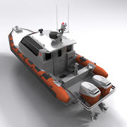 Military Boat 3d model