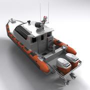 軍用ボート 3d model