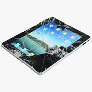 Broken iPad 3d model