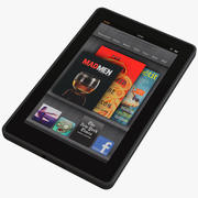 Kindle Fire 3d model