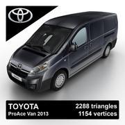 Toyota ProAce Van 2013 3d model