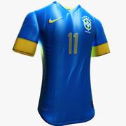 Brazil Jersey 3d model