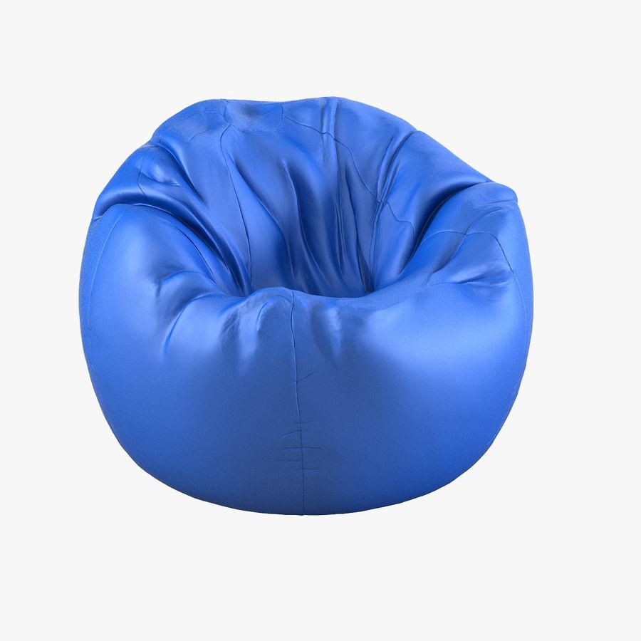 Enjoyable Bean Bag Chair 3D Model 39 Max Obj Fbx 3Ds Free3D Pabps2019 Chair Design Images Pabps2019Com