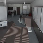 Office 23 3d model