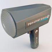 JUGS Pro-Sport Radar Gun 3d model