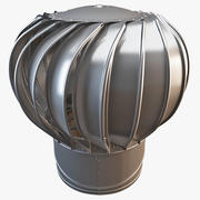 Industrial Roof Turbine 3d model