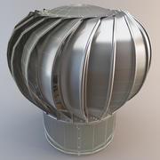 Turbina de techo industrial modelo 3d