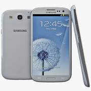 Samsung Galaxy S III White 3d model