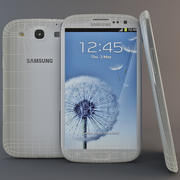 Samsung Galaxy S III Blanc 3d model