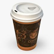 Café à emporter 3d model