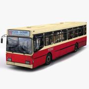 Sanos Solo城市公交车 3d model
