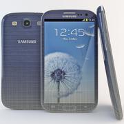 Samsung Galaxy S III Noir 3d model