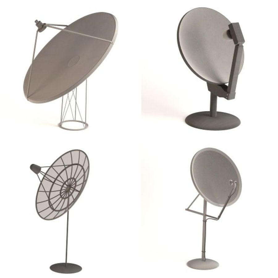 antennes royalty-free 3d model - Preview no. 1