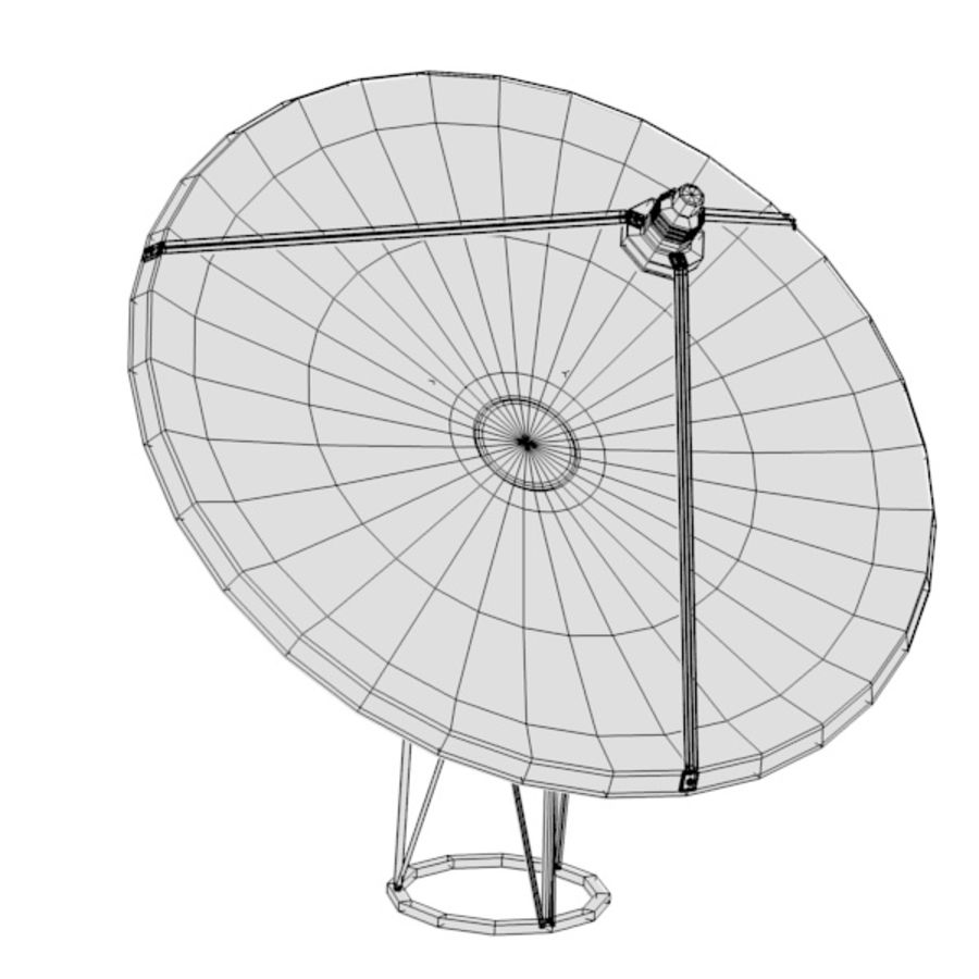antennes royalty-free 3d model - Preview no. 6