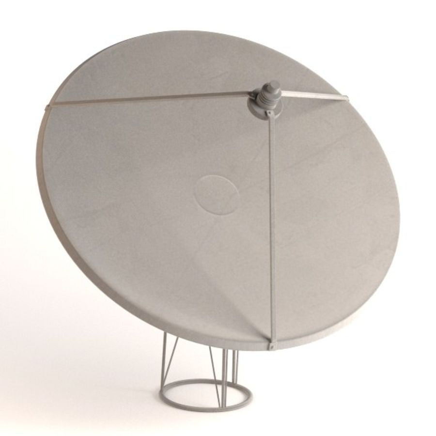 antennes royalty-free 3d model - Preview no. 2