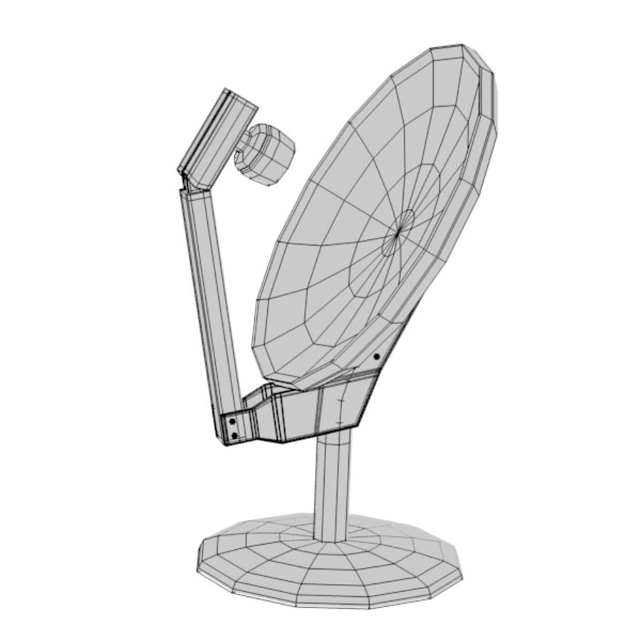 antennes royalty-free 3d model - Preview no. 11
