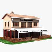 Restaurant Cafe Bar 3d model