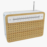 Lexon Safe Radio 3d model