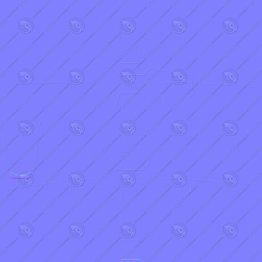通用原子复仇者捕食者C中期聚 royalty-free 3d model - Preview no. 12
