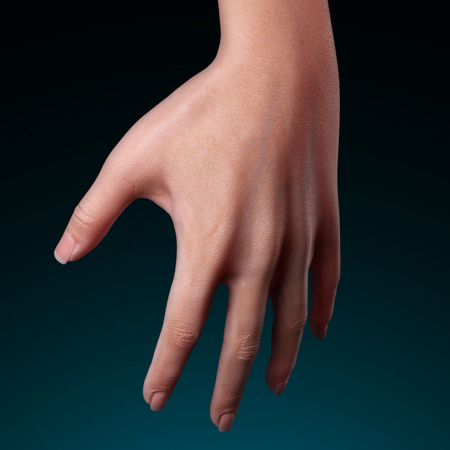 Female Arm royalty-free 3d model - Preview no. 3